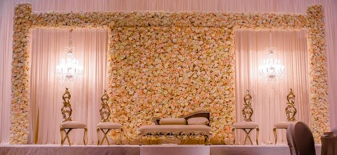 Floral Walls Wedding Planner Bournemouth Dorset