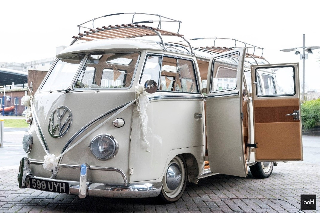 VW splitty weddings